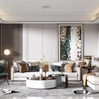 现代风格高端沙发